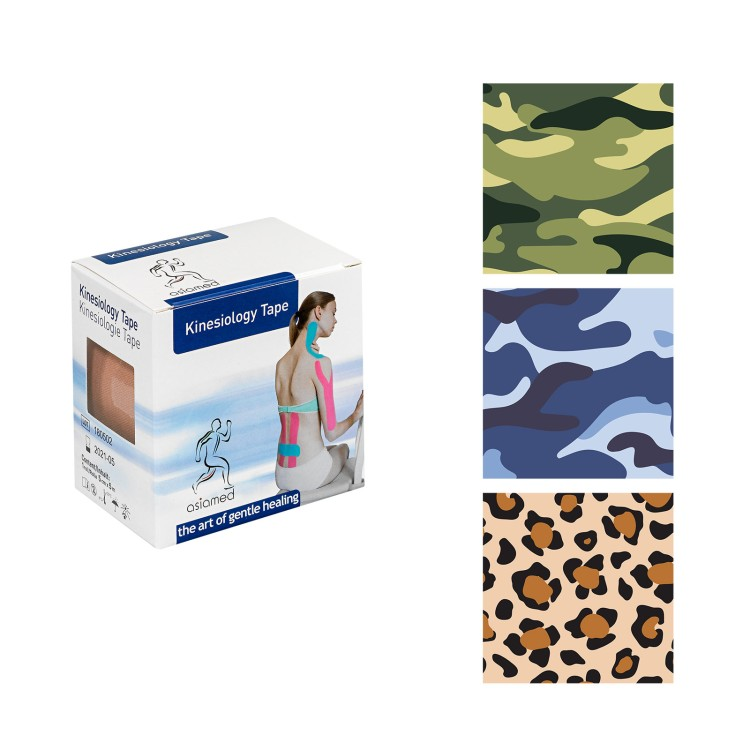 asiamed Kinesiologie-Design Tapes (5 m x 5 cm)