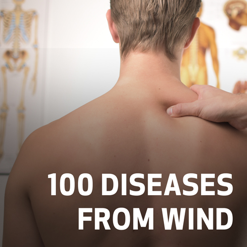 100 Diseases from Wind