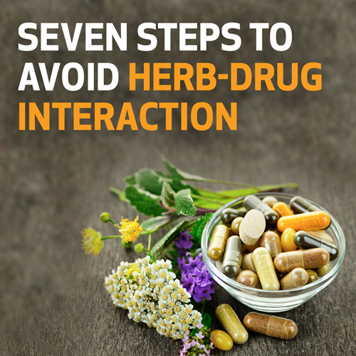 Seven Steps to Avoid Herb-Drug Interactions